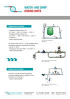 Download Infobrochure Water- and Damp Dosing Units