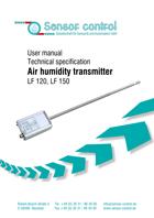 Download Датчик влажности модели LF